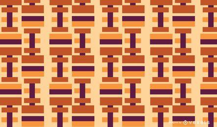 Patrón de rectángulos abstractos geométricos