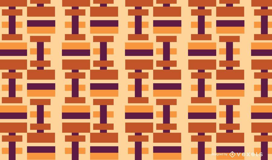 Padrão geométrico abstrato retângulos