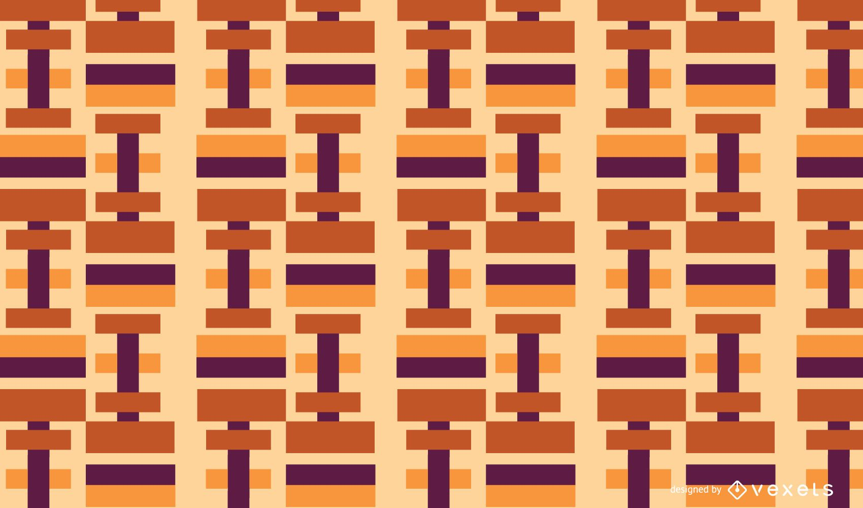 Geometric abstract rectangles pattern