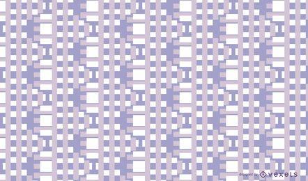 Retângulos abstraem design padrão