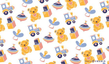 Baby toys pattern design