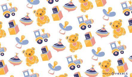Design de padrão de brinquedos de bebê
