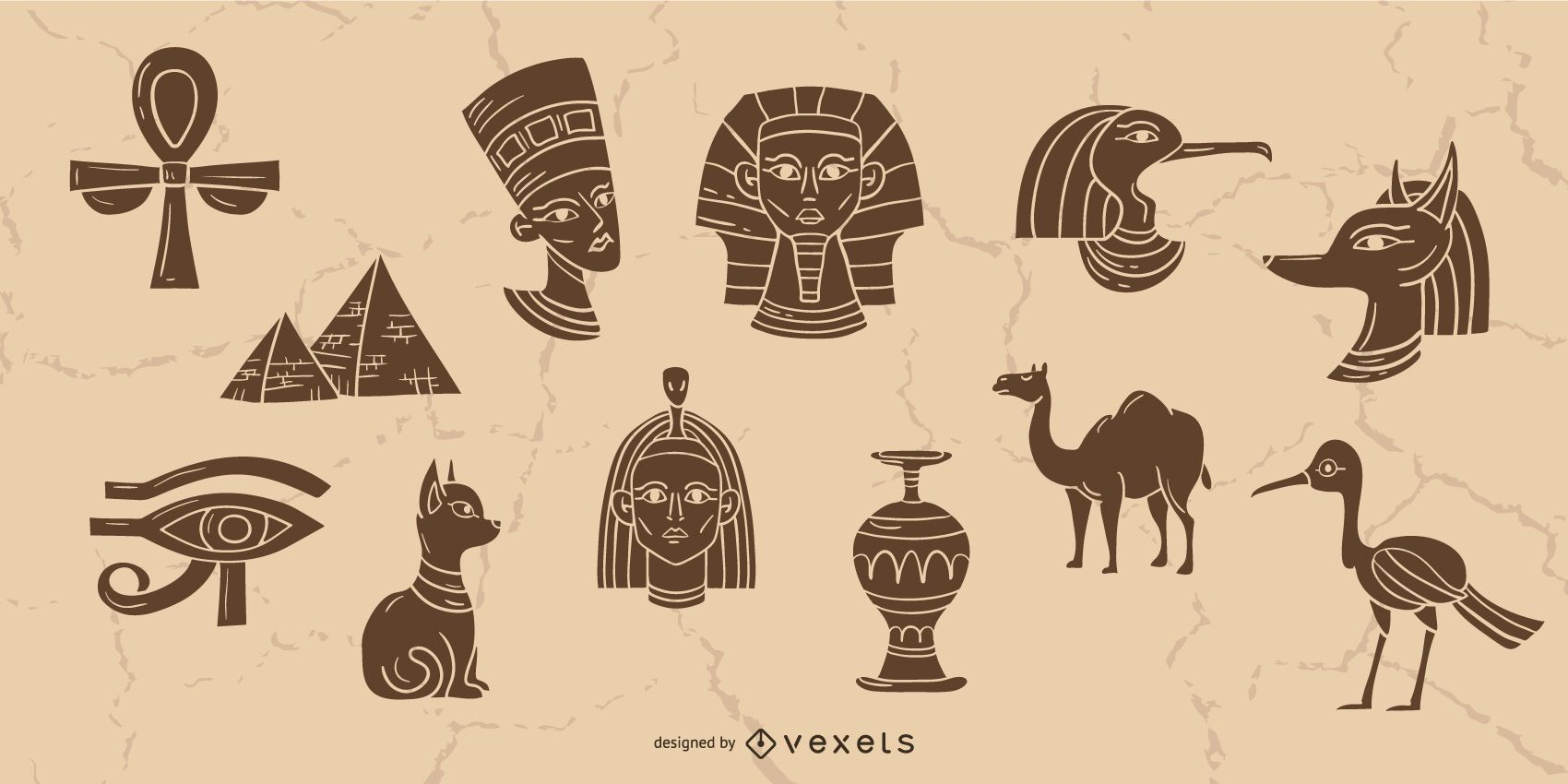 Egypt elements collection
