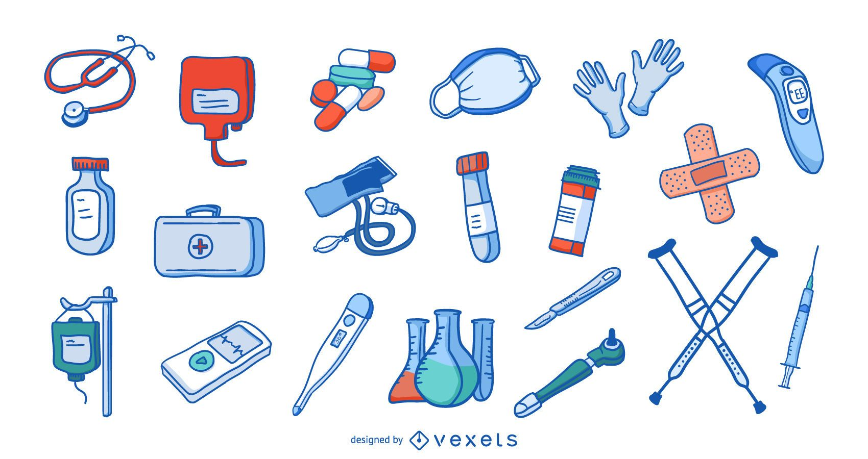 Hospital elements collection