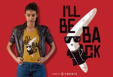 Diseño de camiseta Boomerang