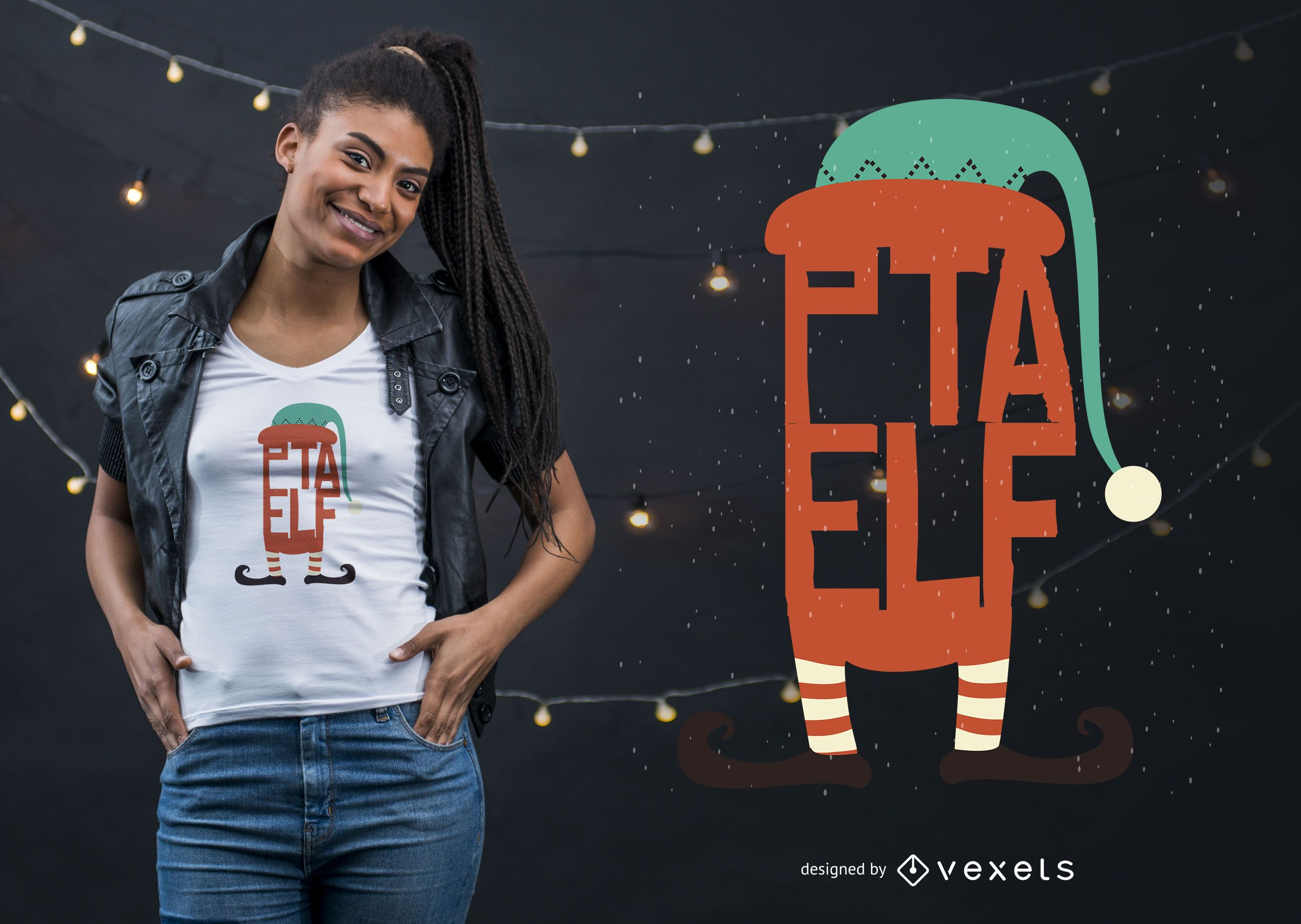 Diseño de camiseta de Elf PTA