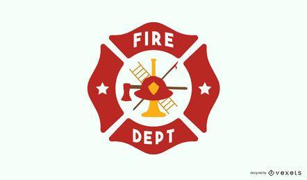 Diseño del logo de la estación de bomberos