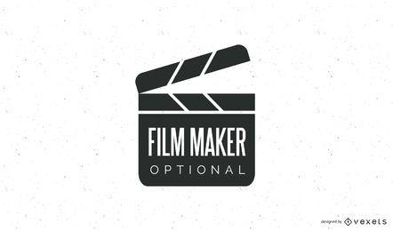 Modelo de logotipo de cineasta