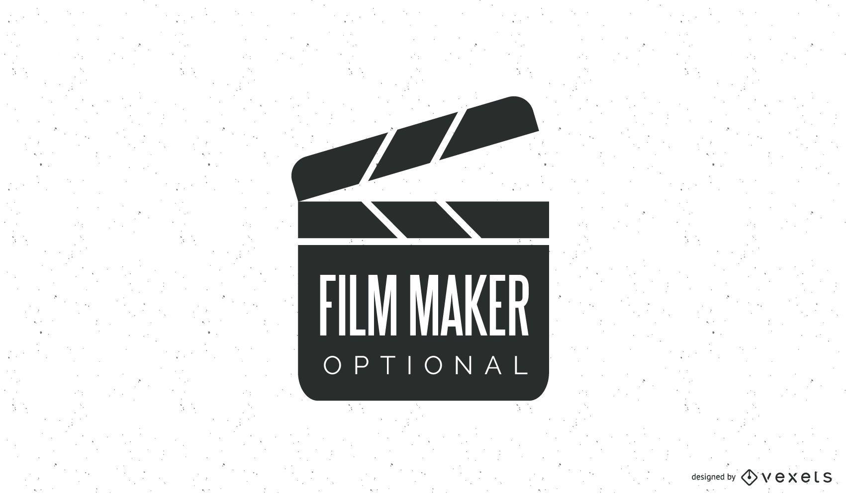 Modelo de logotipo do cineasta