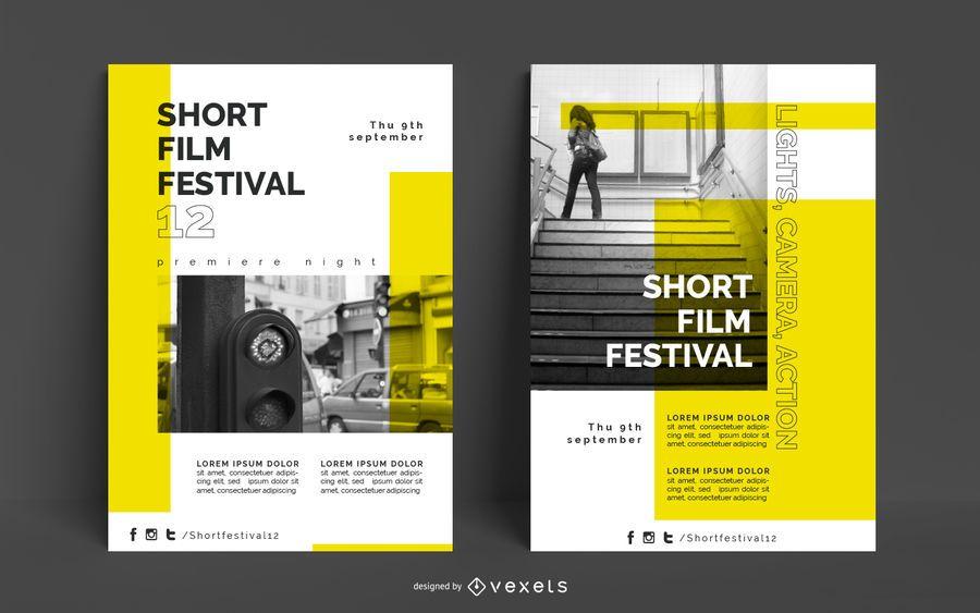 Film Festival Plakat Vorlage