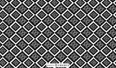 Desenho de padrão geométrico abstrato