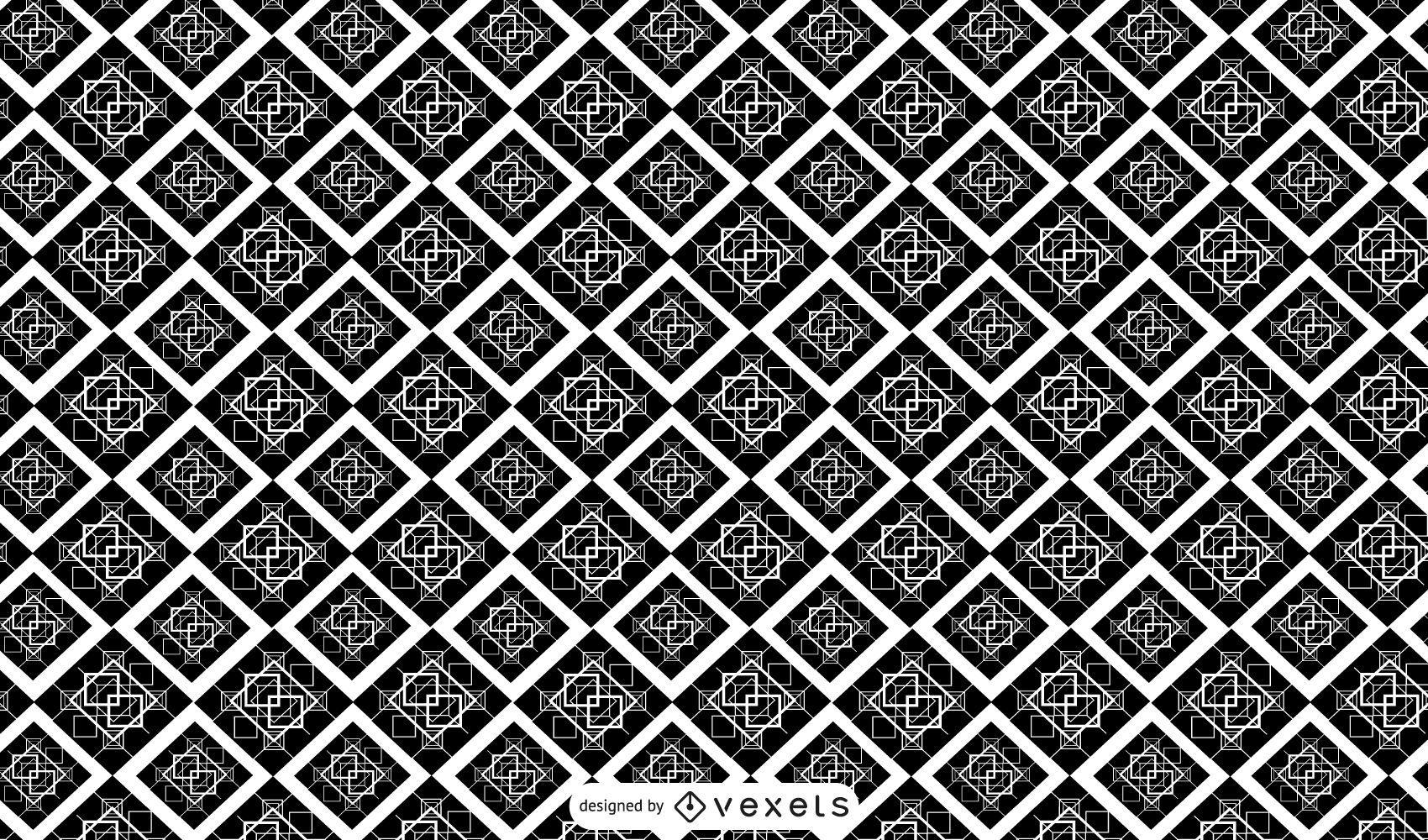 Geometric abstract pattern design