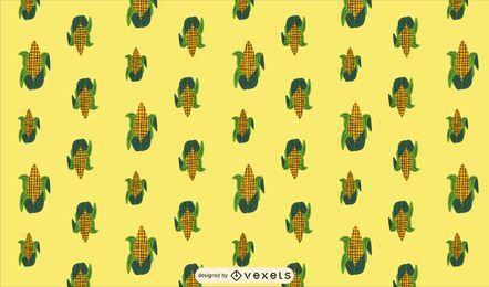 Design de padrão de milho