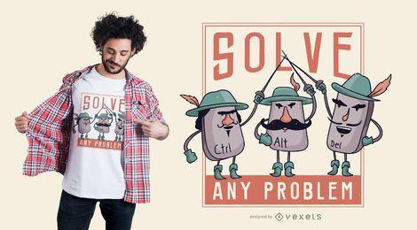 Muskeyteers t-shirt design