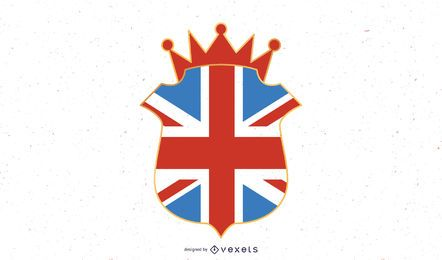 UK emblem illustration