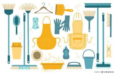 Reinigung der Wohnung Sammlung