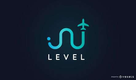 Design de logotipo de negócios de viagens