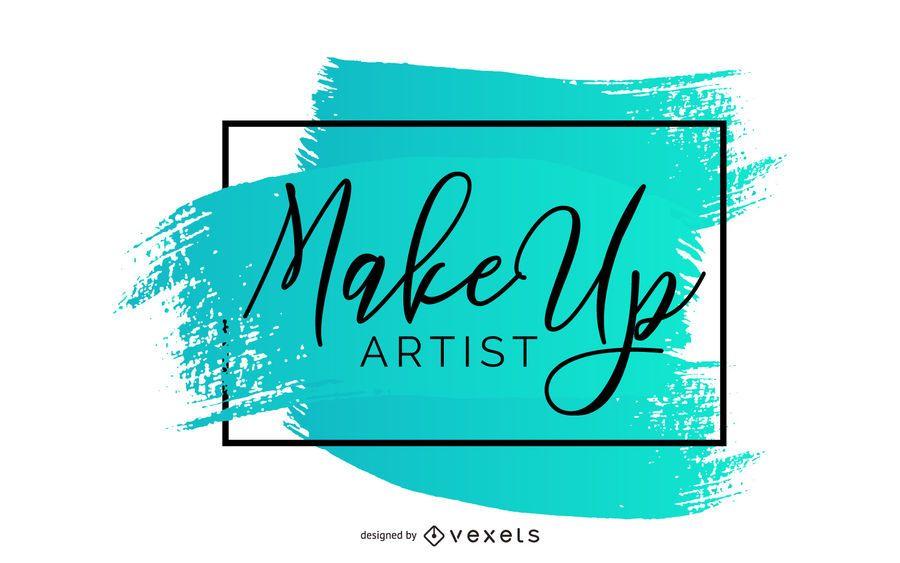 Banner criativo de maquiador