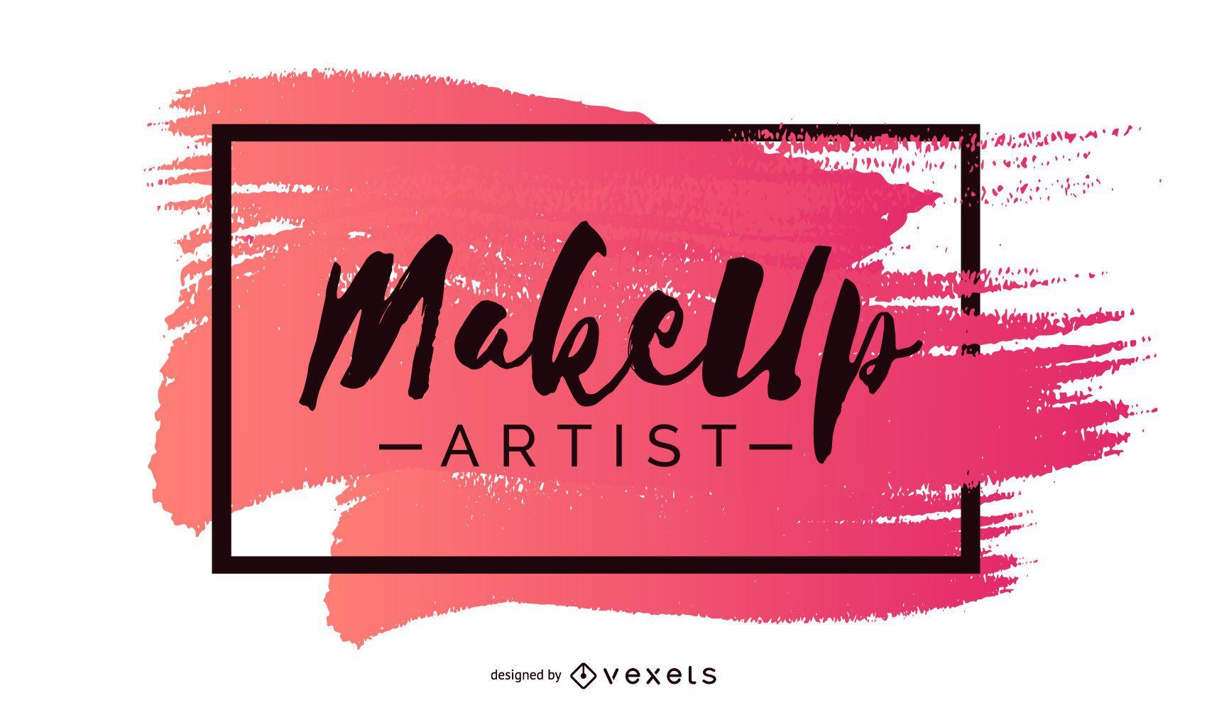 Design de banner para maquiador