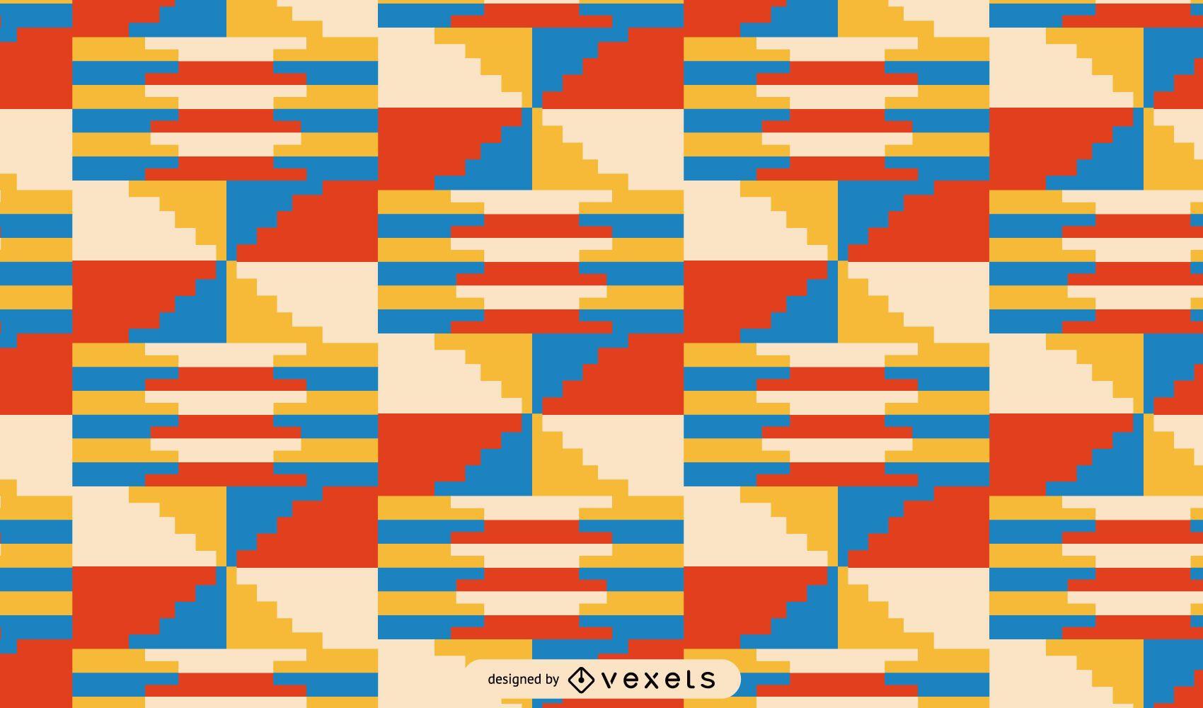 Kwanzaa colorful tribal pattern design
