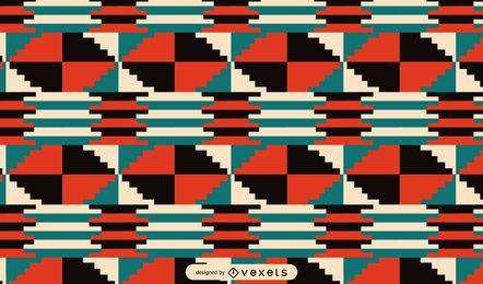 Diseño de patrón tribal de Kwanzaa