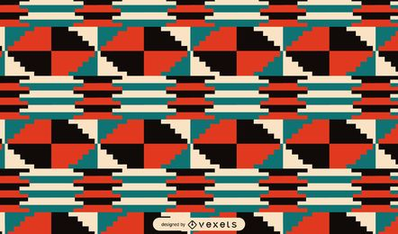 Stammes- Musterentwurf Kwanzaas