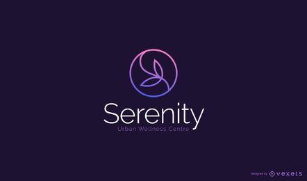 Design de logotipo de spa de beleza
