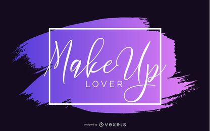 Make-up Liebhaber Banner Design