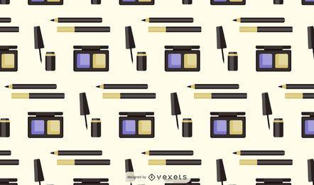 Design de padrão de produtos de maquiagem