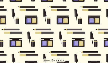 Makeup products pattern design