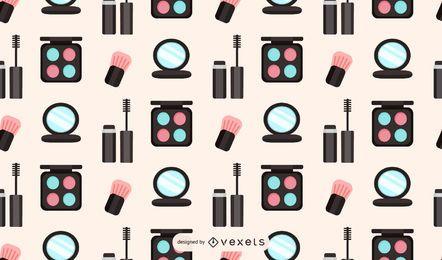 Design de padrão de maquiagem