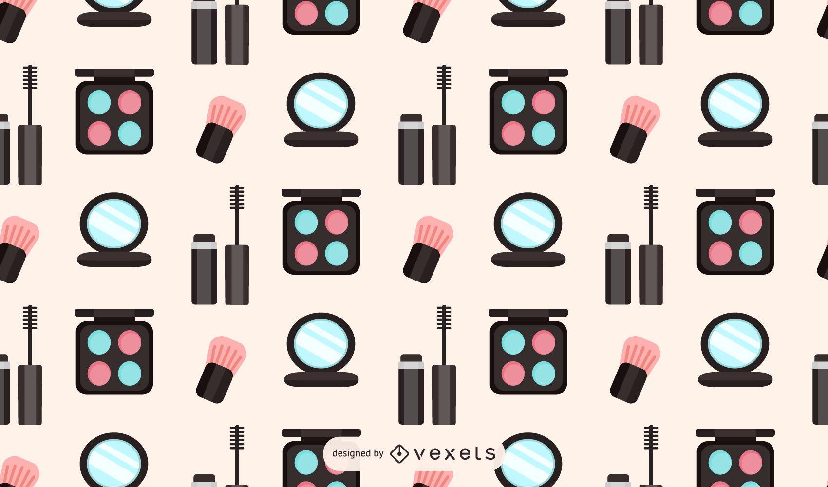 Makeup pattern design