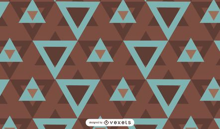 Geometrical abstract triangles pattern design