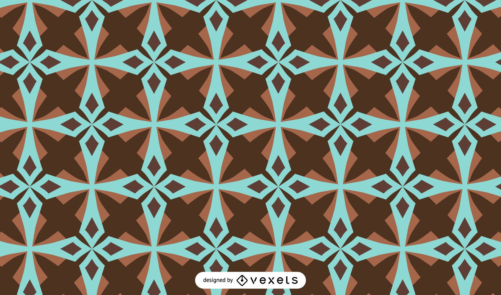 Abstract geometrical pattern design