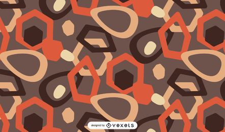 Geometrical abstract pattern design