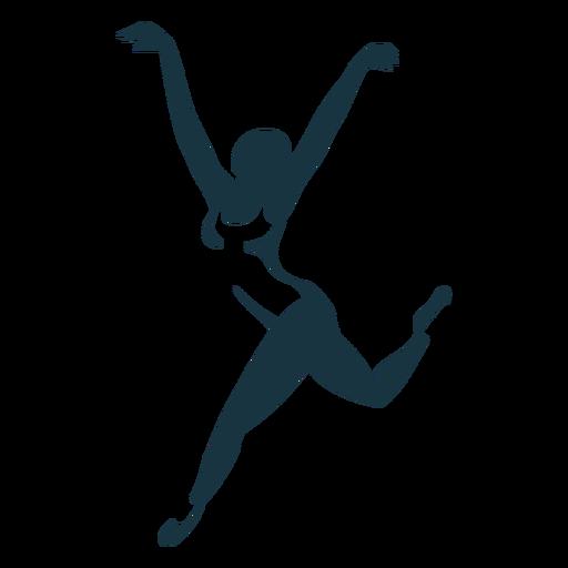 Bailarina bailarina de ballet tricot pointe zapato postura silueta ballet Transparent PNG