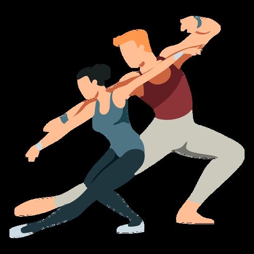 Bailarina bailarina balé postura tricô balé plano