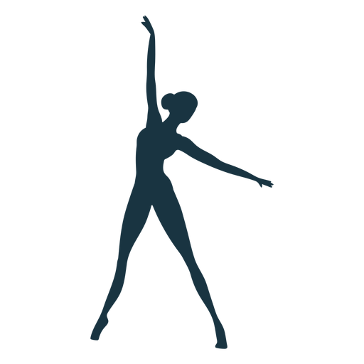 Ballerina posture ballet dancer silhouette ballet
