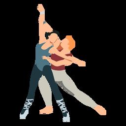 Bailarina tricot ballet dancer pointe sapato postura plana ballet