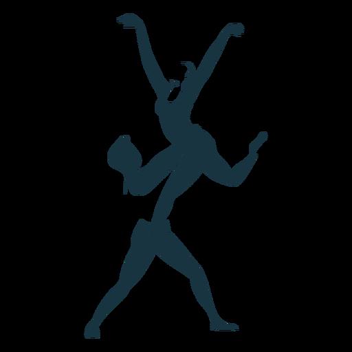 Bailarina de ballet bailarina pointe postura del zapato silueta detallada ballet Transparent PNG