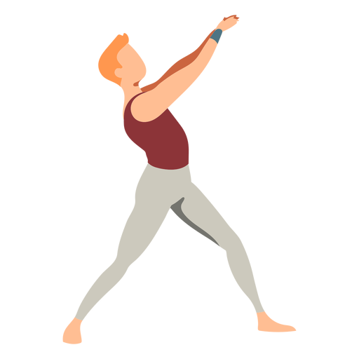 Bailarina de balé plana