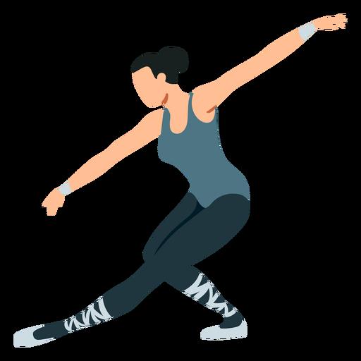 Postura de dançarina de balé bailarina sapato de ponta tricot ballet plana Transparent PNG