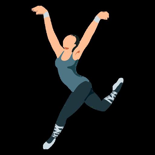 Bailarina postura postura bailarina tricot ponta sapato balé Transparent PNG