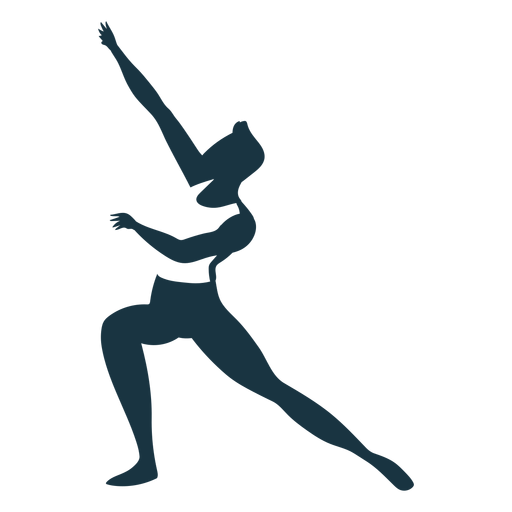 Ballet dancer posture detailed silhouette ballet Transparent PNG