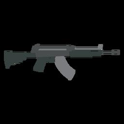 Cargador arma pistola plana
