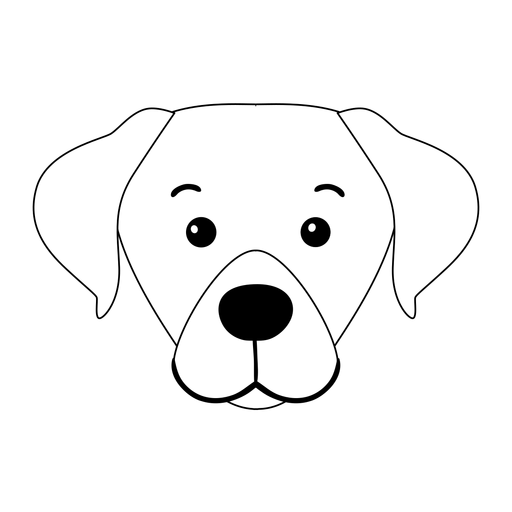 Dog puppy muzzle ear stroke animal Transparent PNG