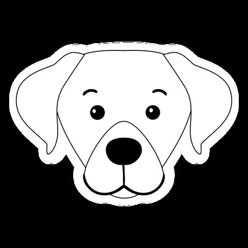 Perro cachorro hocico oreja trazo animal Transparent PNG