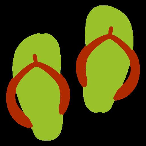 Flip flop mule shoe slipper flat summer Transparent PNG
