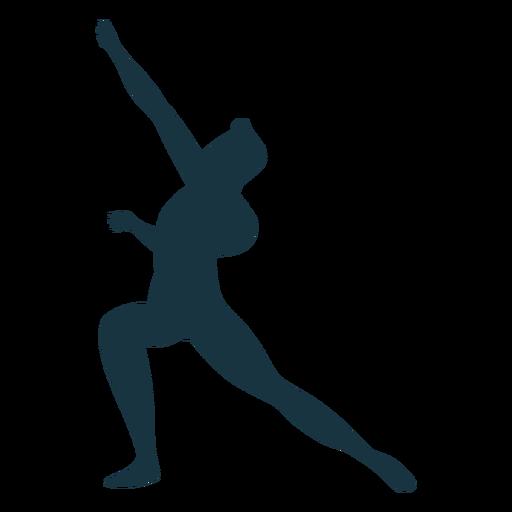 Grace posture ballet dancer silhouette ballet