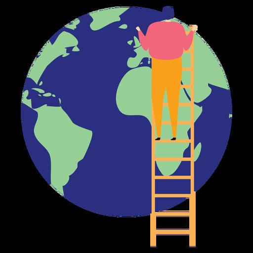 Escalera escalera escalera altura planeta tierra continente elevación plana Transparent PNG
